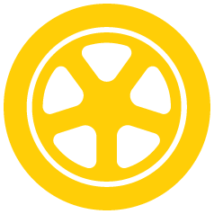 loading icon spinning tire
